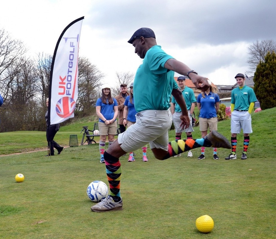 Ex SAFC Captain Gary Bennett launches North East FootGolf series